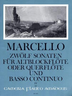 Benedetto Marcello - 12 Sonaten op. 2 - Bd. 4 - Altblockflöte o. Flöte und Bc - Partition - di-arezzo.com