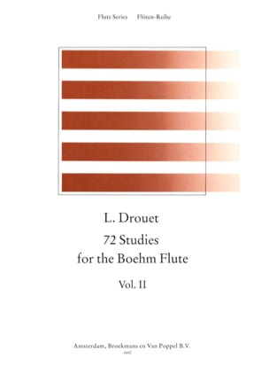 72 Etudes for the Boehm Flute Volume 2 Louis Drouet laflutedepan