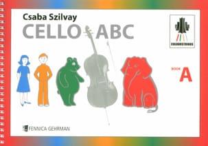 Cello ABC Book A Colourstrings - Geza Szilvay - laflutedepan.com