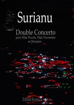 Double Concerto - Flûte, Piccolo et piano Horia Surianu laflutedepan