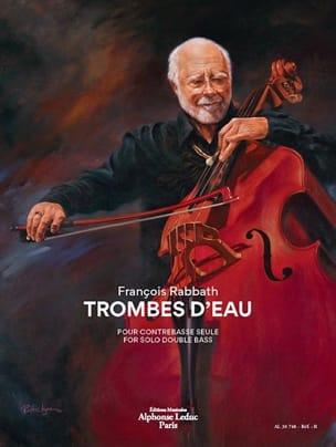 Trombes d'Eau - Contrebasse François Rabbath Partition laflutedepan