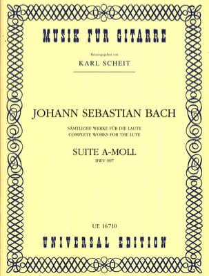 Suite A Minor BWV 997 BACH Partition Guitare - laflutedepan