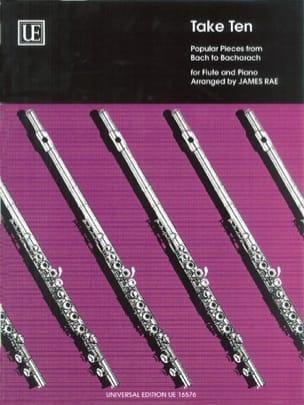 Take Ten - Flute piano James Rae Partition laflutedepan