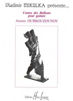 Contes des Balkans Atanas Ourkouzounov Partition laflutedepan
