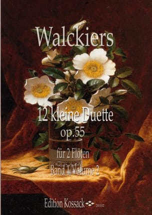 12 Petits Duos, op. 55 - Volume 2 Eugene Walckiers laflutedepan