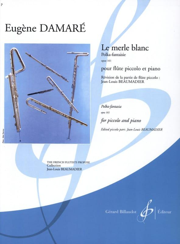 Le Merle Blanc Op. 161 - Eugène Damaré - Partition - laflutedepan.com