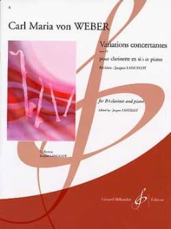 Variations concertantes op. 33 Carl Maria von Weber laflutedepan