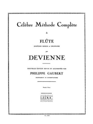 Méthode complète de Flûte - Volume 1 DEVIENNE Partition laflutedepan