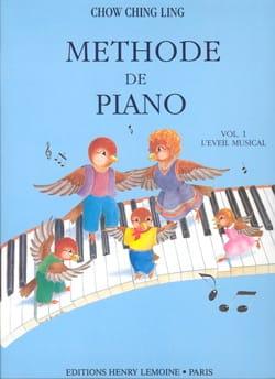 Méthode de Piano Volume 1 - Chowching - Partition - laflutedepan.com