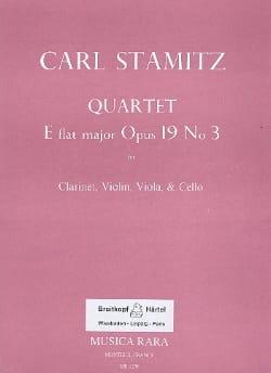 Quartet E flat maj. op. 19 n° 3 -Clarinet violin viola cello laflutedepan