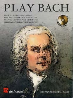 Play Bach - Clarinet BACH Partition Clarinette - laflutedepan