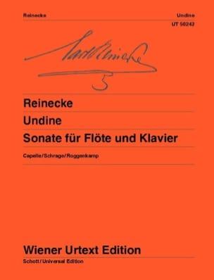 Undine - Sonate pour Flûte et Piano Carl Reinecke laflutedepan