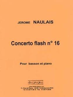 Concerto Flash N°16 Jérôme Naulais Partition Basson - laflutedepan