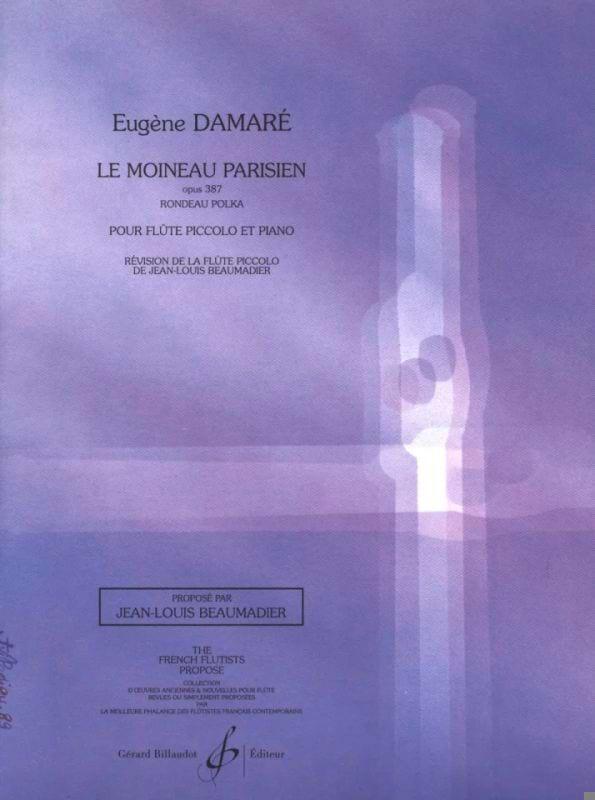 Le moineau parisien op. 387 - Eugène Damare - laflutedepan.com
