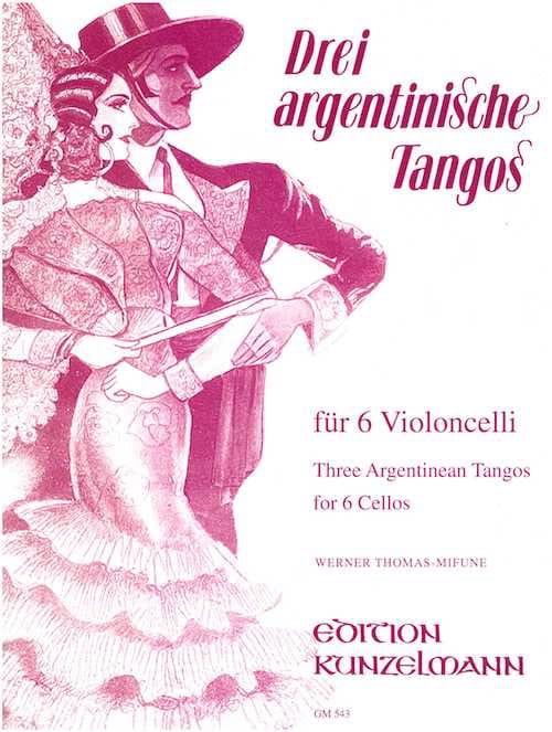 3 Argentische Tangos - 6 Cellos - laflutedepan.com