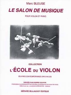 Le Salon de musique Marc Bleuse Partition Violon - laflutedepan
