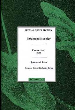 Concertino D-Dur Opus 15 - Ferdinand Küchler - laflutedepan.com