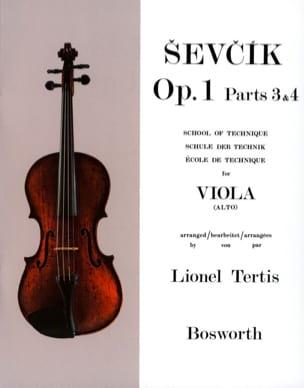 Etudes Opus 1 / Parties 3 & 4 - Alto Otakar Sevcik laflutedepan