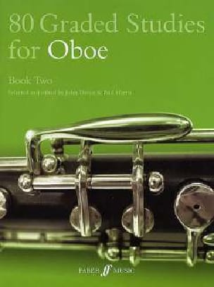 80 Graded studies for oboe - Book 2 laflutedepan