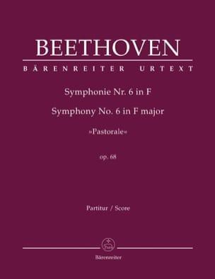 Symphonie N° 6 Pastorale F-Dur op. 68 - Partitur laflutedepan