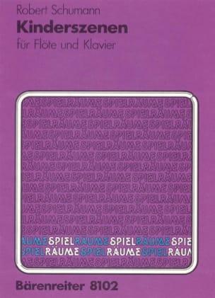 Kinderszenen op. 15 - Flûte et Piano - SCHUMANN - laflutedepan.com