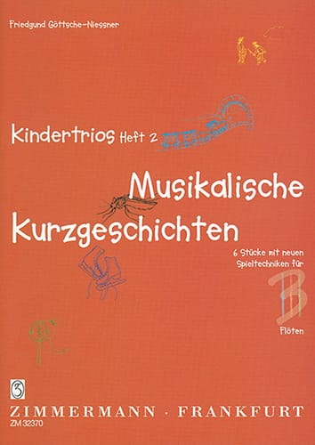 Kindertrios Heft 2 - Friedgund Göttsche-Niessner - laflutedepan.com
