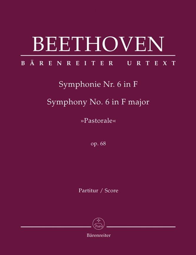 Symphonie N° 6 Pastorale F-Dur op. 68 - Partitur - laflutedepan.com