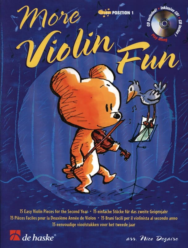 More Violon Fun - Nico Dezaire - Partition - laflutedepan.com