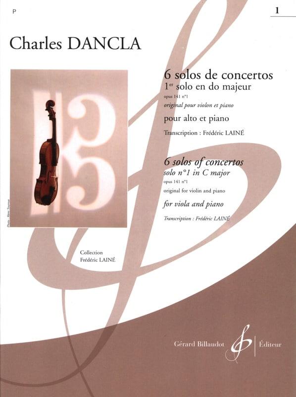 1er Solo de concerto op. 141 n° 1 en do majeur - Alto - laflutedepan.com