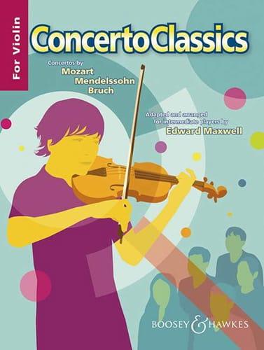 Concerto Classics - Edward Maxwell - Partition - laflutedepan.com