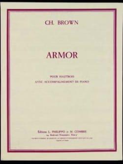Armor Charles Brown Partition Hautbois - laflutedepan