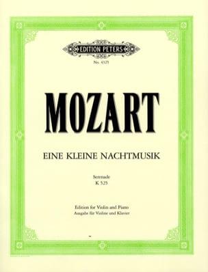 Eine kleine Nachtmusik KV 525 - Violine Klavier - laflutedepan.com