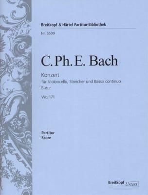 Concerto Pour Violoncelle et Orchestre En Si B Majeur Wq 171 laflutedepan