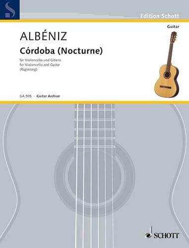Córdoba Nocturne - ALBENIZ - Partition - 0 - laflutedepan.com
