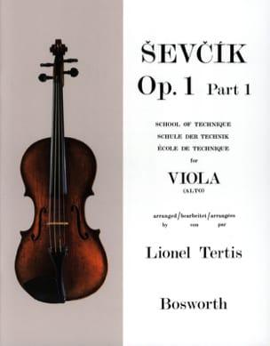Etudes Opus 1 / Partie 1 - Alto Otakar Sevcik Partition laflutedepan