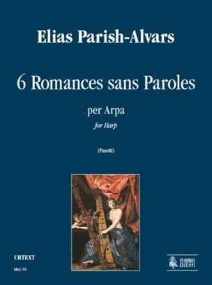 6 Romances sans paroles Elias Parish-Alvars Partition laflutedepan