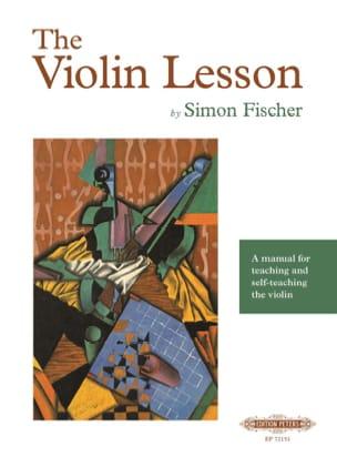 The Violin Lesson Simon Fischer Partition Violon - laflutedepan