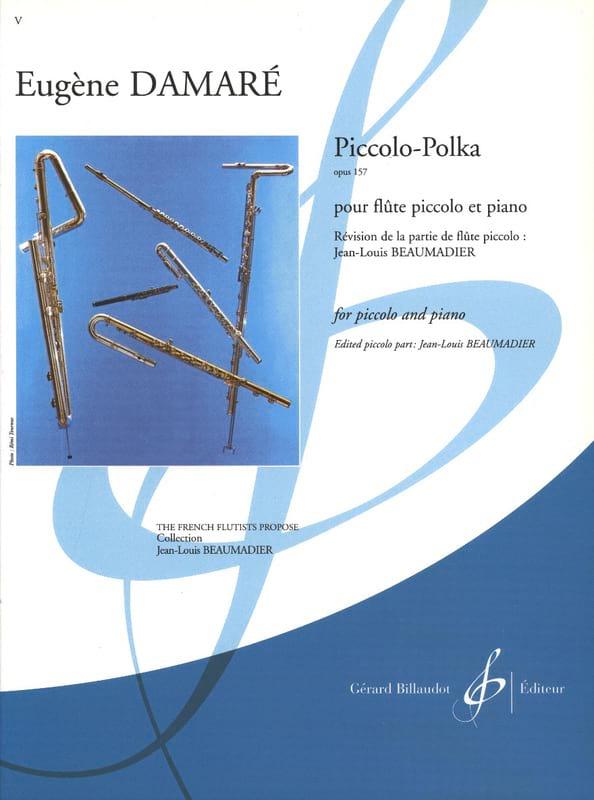 Piccolo-Polka op. 157 - Eugène Damaré - Partition - laflutedepan.com