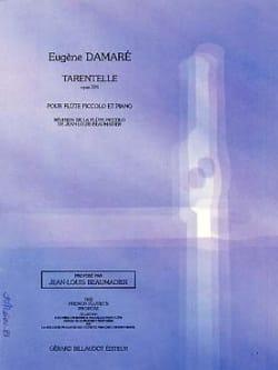 Tarentelle op. 391 Eugène Damaré Partition laflutedepan
