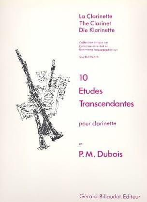 10 Etudes transcendantes Pierre-Max Dubois Partition laflutedepan