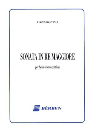 Sonata in Re Maggiore Leonardo Vinci Partition laflutedepan
