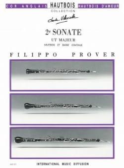 2e Sonate en ut majeur -Hautbois et basse coontinue laflutedepan