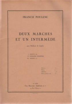 2 Marches et un Intermède pour Orchestre de Chambre laflutedepan