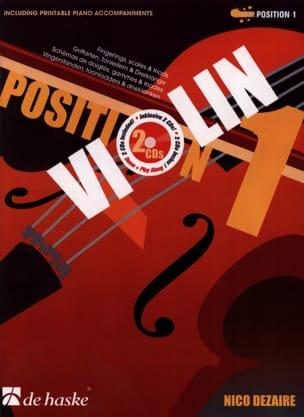 Position 1 - Violin Nico Dezaire Partition Violon - laflutedepan