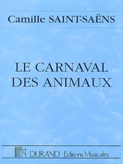 Le carnaval des animaux - Conducteur SAINT-SAËNS laflutedepan