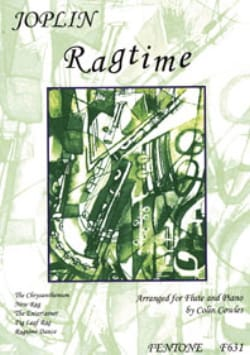 Ragtime - Flûte piano JOPLIN Partition laflutedepan