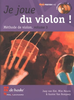 Je Joue du Violon - Volume 3 DE HASKE Partition Violon - laflutedepan