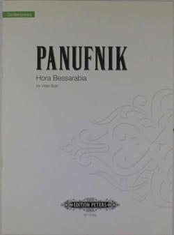Hora Bessarabia Roxanna Panufnik Partition Violon - laflutedepan
