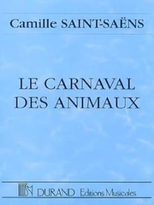 Le carnaval des animaux - Conducteur - SAINT-SAËNS - laflutedepan.com