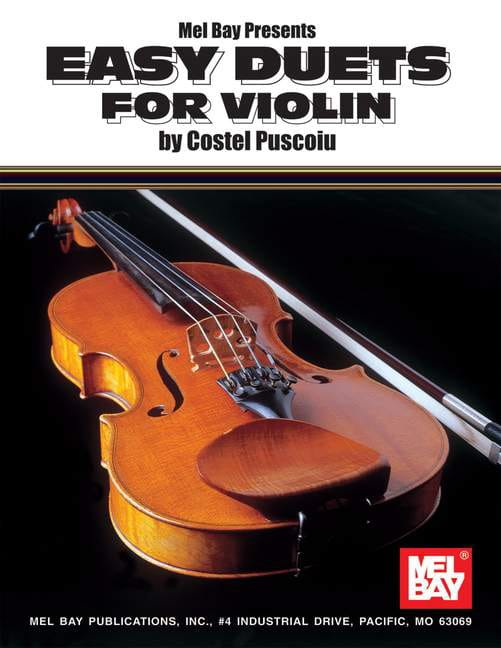 Easy Duets For Violin - Puscoiu Costel - Partition - laflutedepan.com